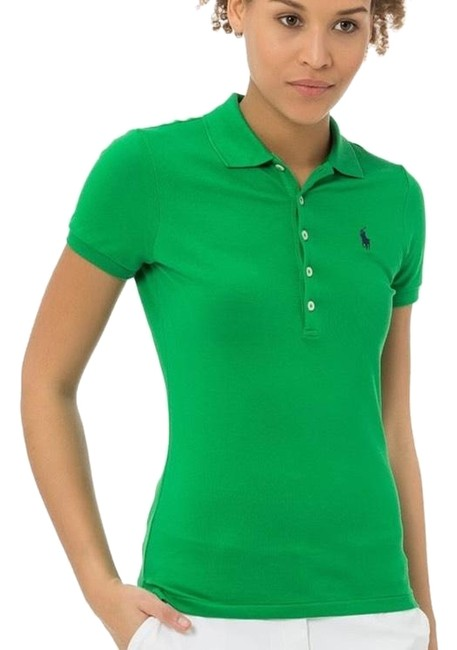 Item - Green Polo Tee Shirt Size 4 (S)
