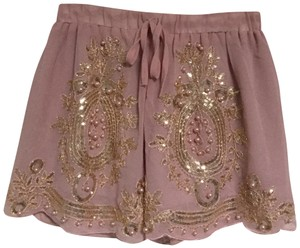 Chicwish Pearl Mini/Short Shorts Dusty rose