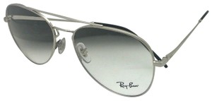 Ray-Ban New RAY-BAN Aviators Eyeglasses RB 6413 2501 56-17 140 Silver Frames