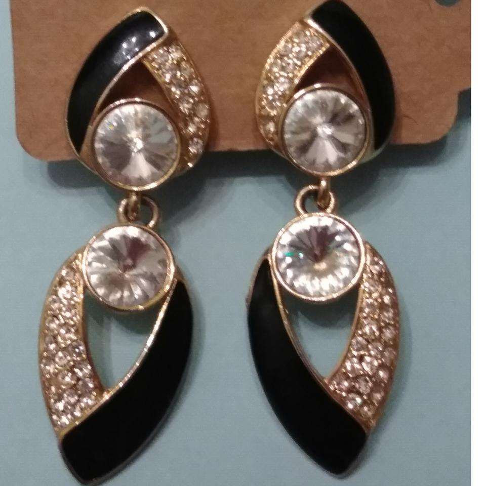 Bijou Vintage Bijoux Ny Designs Couture Clip On Earrings