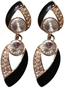 Bijou Vintage 'Bijoux NY Designs' Couture Clip-on Earrings