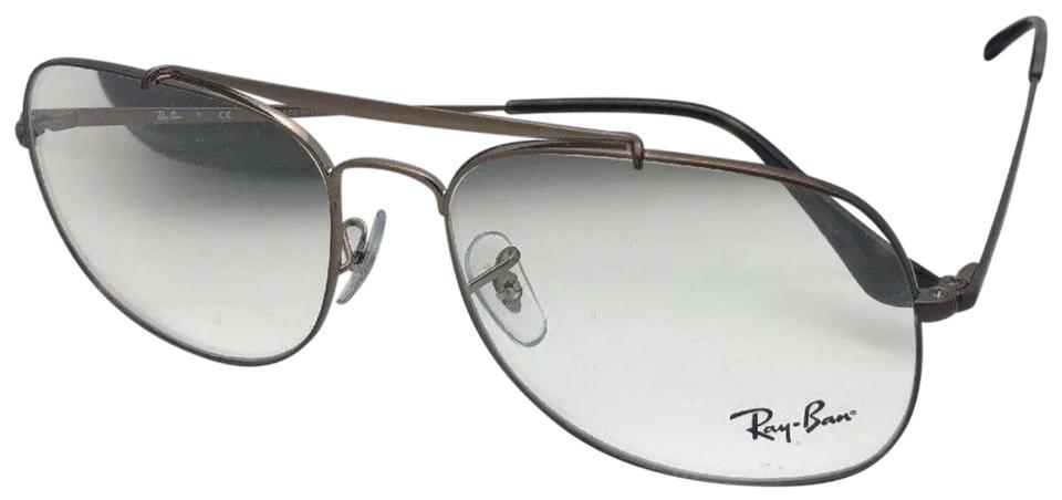 2e41a1fe6b8 Ray-Ban New Aviators The General Rb 6389 2531 57-16 145 Brown Frames ...