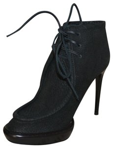 Burberry Prorsum Ankle Leather Black Boots