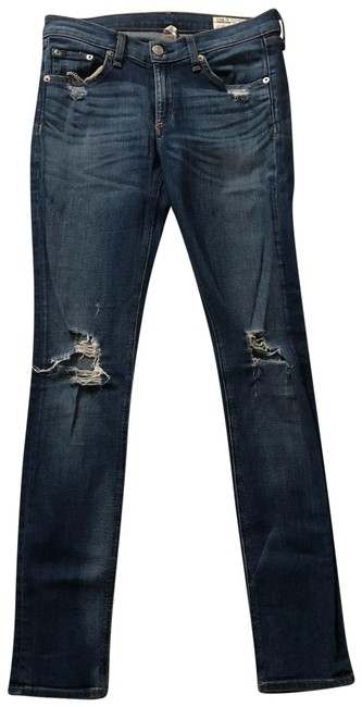 Item - Dest Chester Distressed Skinny Jeans Size 4 (S, 27)