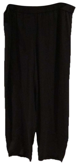 Item - Black Silk Lantern Pants Size 14 (L, 34)