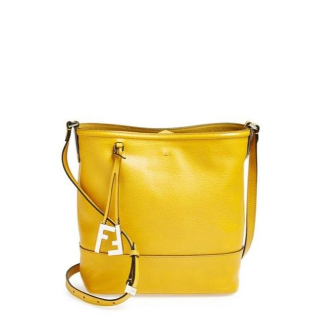 Item - Bucket Limited Edition Mini Black Gold Leather Canvas Cross Body Bag