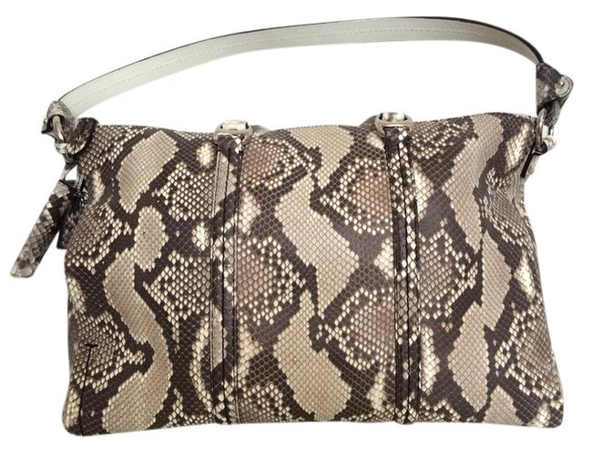 Bally Handbag Snake Skin Python Shoulder Bag Bally Handbag Snake Skin Python Shoulder Bag Image 1