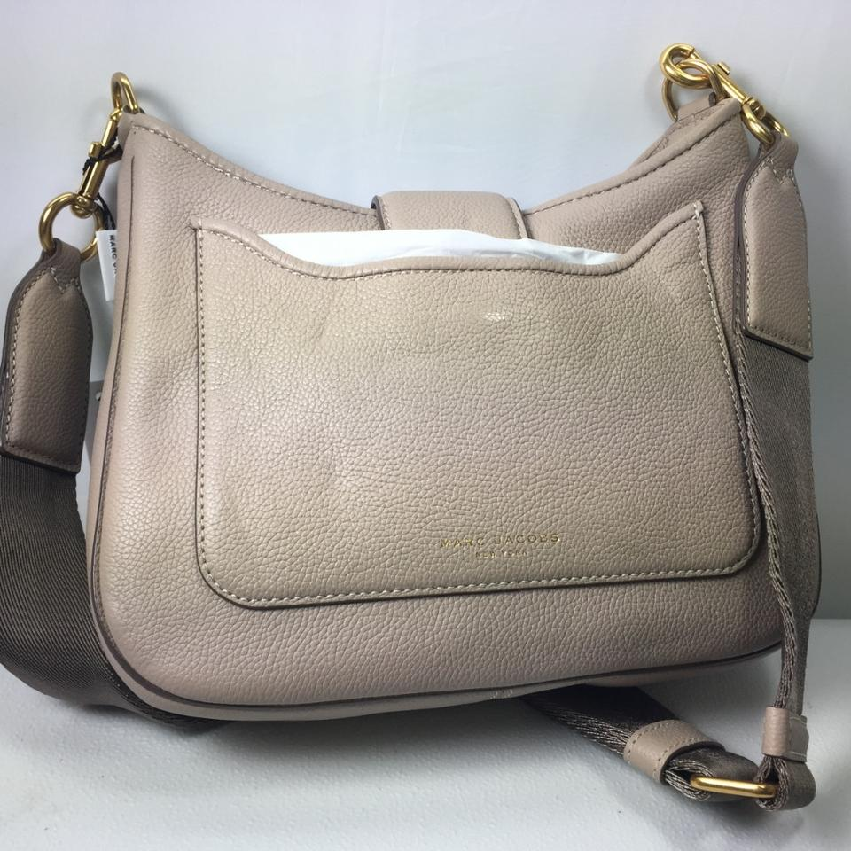 31d868e1548c Marc by Marc Jacobs Women s Interlock Small Handbag Taupe Leather ...