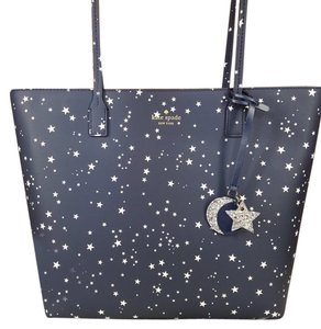 Kate Spade Tote in navy blue white