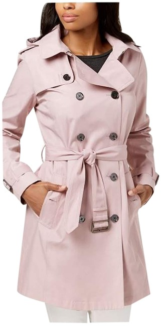 Item - Pale Pink Hooded Coat Size 4 (S)
