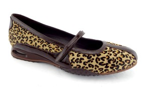 Cole Haan Animal Print Brown Ballerina Bria Air Bria Leopard Flats