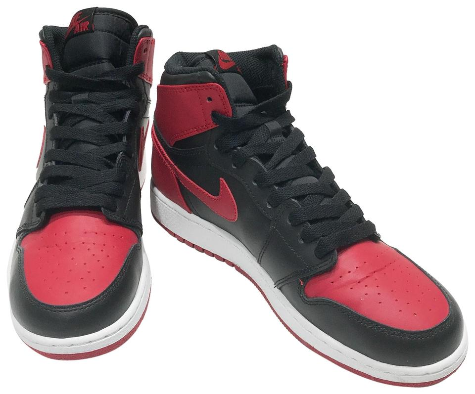 new arrival c6fde ffde3 Nike Bred Air Jordan 1 Retro High Og Bg 575441 023 Sneakers