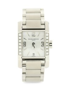 Baume & Mercier Mother-of-Pearl Square Dial