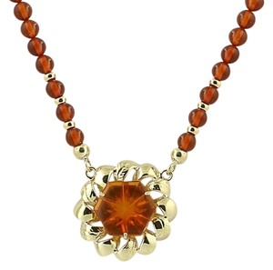 Other Beaded Amber Pendant Necklace 17