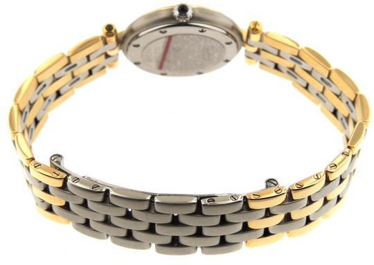 Cartier Mint Ladie Cartier Panthere Vendome Round 24m 3Row 18K Yellow Gold/SS Image 1