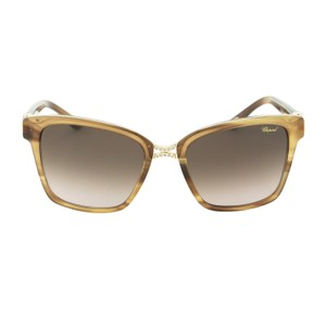 Chopard New Sch 128s Wtm Women Square Swarovski 55mm Sunglasses