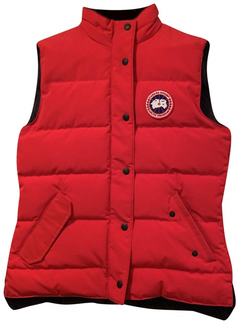 Item - Red Freestyle Puffer Vest Size 8 (M)