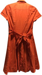 A|X Armani Exchange short dress Coral on Tradesy