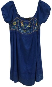 Raviya short dress Blue on Tradesy
