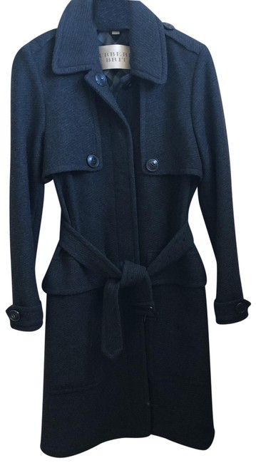 Item - Charcoal Grey Mid Length Coat Size 8 (M)