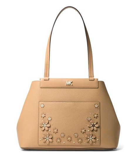 Preload https://img-static.tradesy.com/item/24360103/michael-kors-meredith-bonded-shoulder-medium-butternutgold-leather-tote-0-0-540-540.jpg