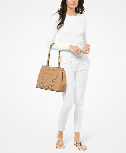 Michael Kors Tote in Butternut/Gold Image 1