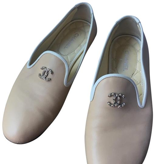 Chanel cream and white Flats Image 1