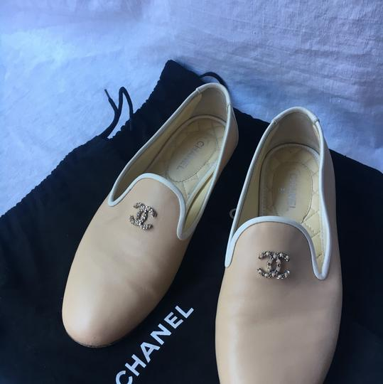 Chanel cream and white Flats Image 2