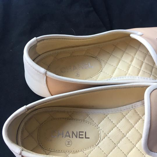 Chanel cream and white Flats Image 4