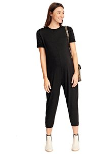 Hatch Collection Walkabout Jumper Black (Maternity Size 2)
