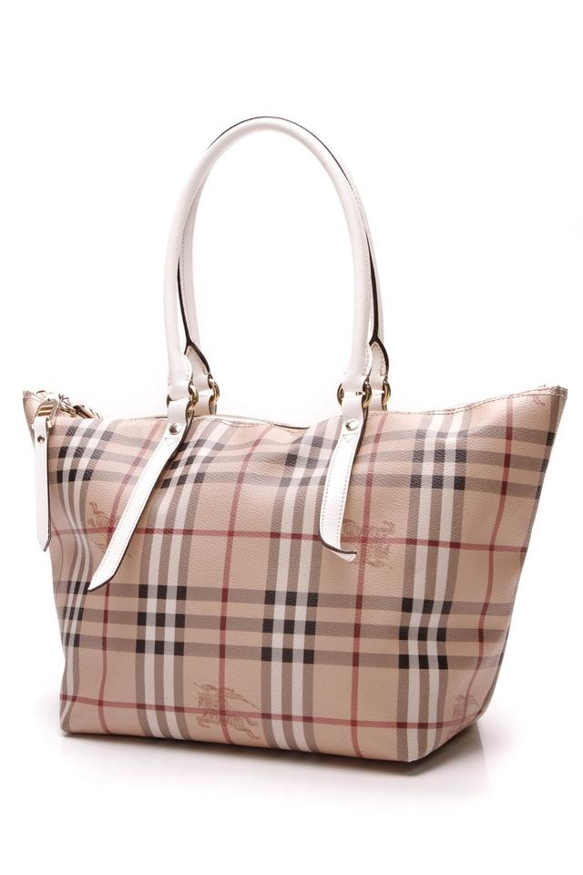 4ae0523d7a4e Burberry Small Salibury - Haymarket Check Multicolor Canvas Tote ...