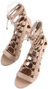 Aquazzura Tan Sandals
