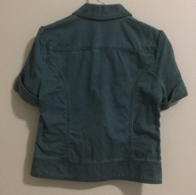 Marc Jacobs Blue Green Jacket Image 1