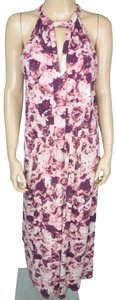 Pink Maxi Dress by BCBGeneration Bcbg Maxi Floral Stretch