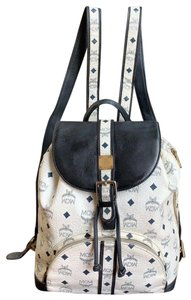 MCM Visetos Vintage Monogram Backpack
