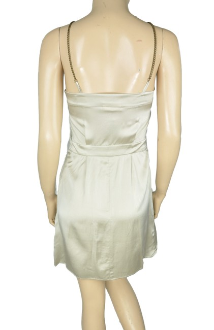 Society for Rational Dress Silk Chain Metallic Slip Dress Image 1