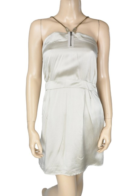 Society for Rational Dress Silk Chain Metallic Slip Dress Image 2