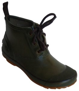 Bogs Rubber Rainboot Waterproof Green Boots