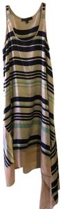 Blue/Green Stripe Maxi Dress by Elizabeth and James