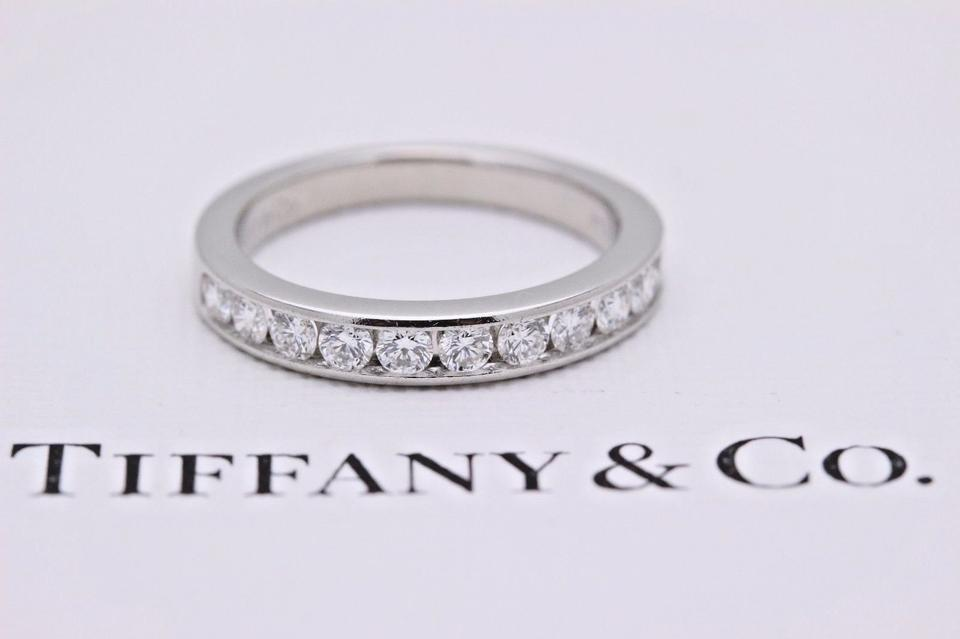 09d7c5bfc67a3 Tiffany & Co. G Vs Co Diamond 2.5 Mm In Platinum #2 Women's Wedding Band  36% off retail