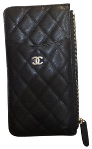 Chanel New Iphone Iphone Classic Cellphone black Clutch