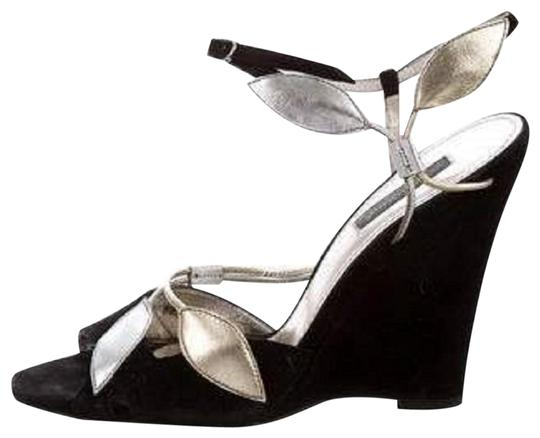 Preload https://img-static.tradesy.com/item/24360888/black-and-gabbana-suede-wh-ankle-strap-golden-silver-leaves-wedges-size-us-8-regular-m-b-0-1-540-540.jpg