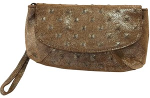 Streets Ahead Metallic bronze Clutch