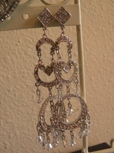 Kirstie Kelly Disney Collection By Kirstie Kelly Swarovski Crystal Chandelier Earrings