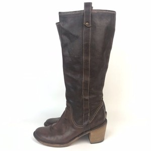 Fiorentini + Baker Pull On Brown Boots
