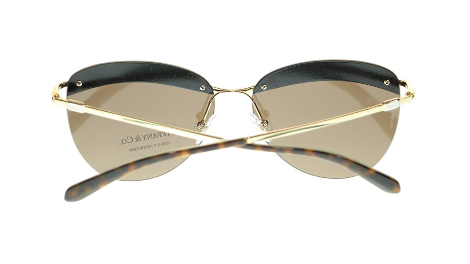 aa7af316d0 Tiffany   Co. Gold Brown Butterfly Women s Tf3057 602173 Sunglasses -  Tradesy