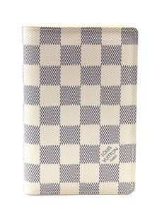 Louis Vuitton Damier Azur wallet bifold card bill holder RARE