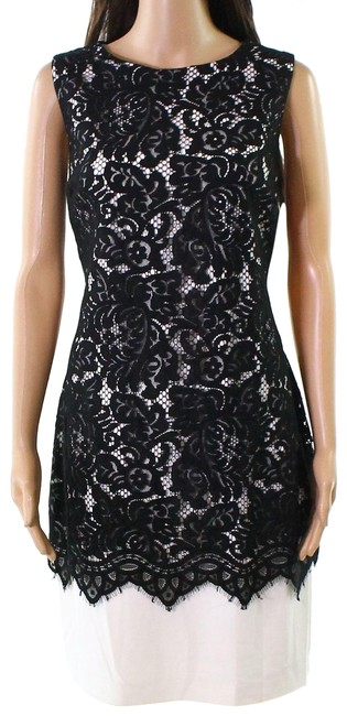Preload https://img-static.tradesy.com/item/24361764/lauren-ralph-lauren-black-by-new-womens-lace-overlay-sheath-short-casual-dress-size-4-s-0-1-650-650.jpg
