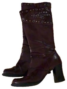 Unlisted by Kenneth Cole Burgundy Boots