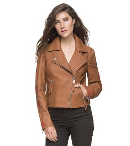 Andrew Marc Bourbon Leather Jacket